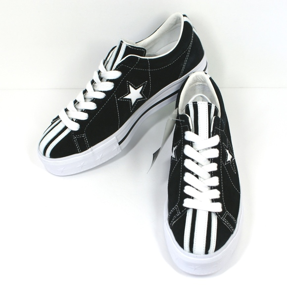 big discount of 2019 great deals on fashion 50% off NEW Converse X MADEME One Star Platform Ox Black NWT
